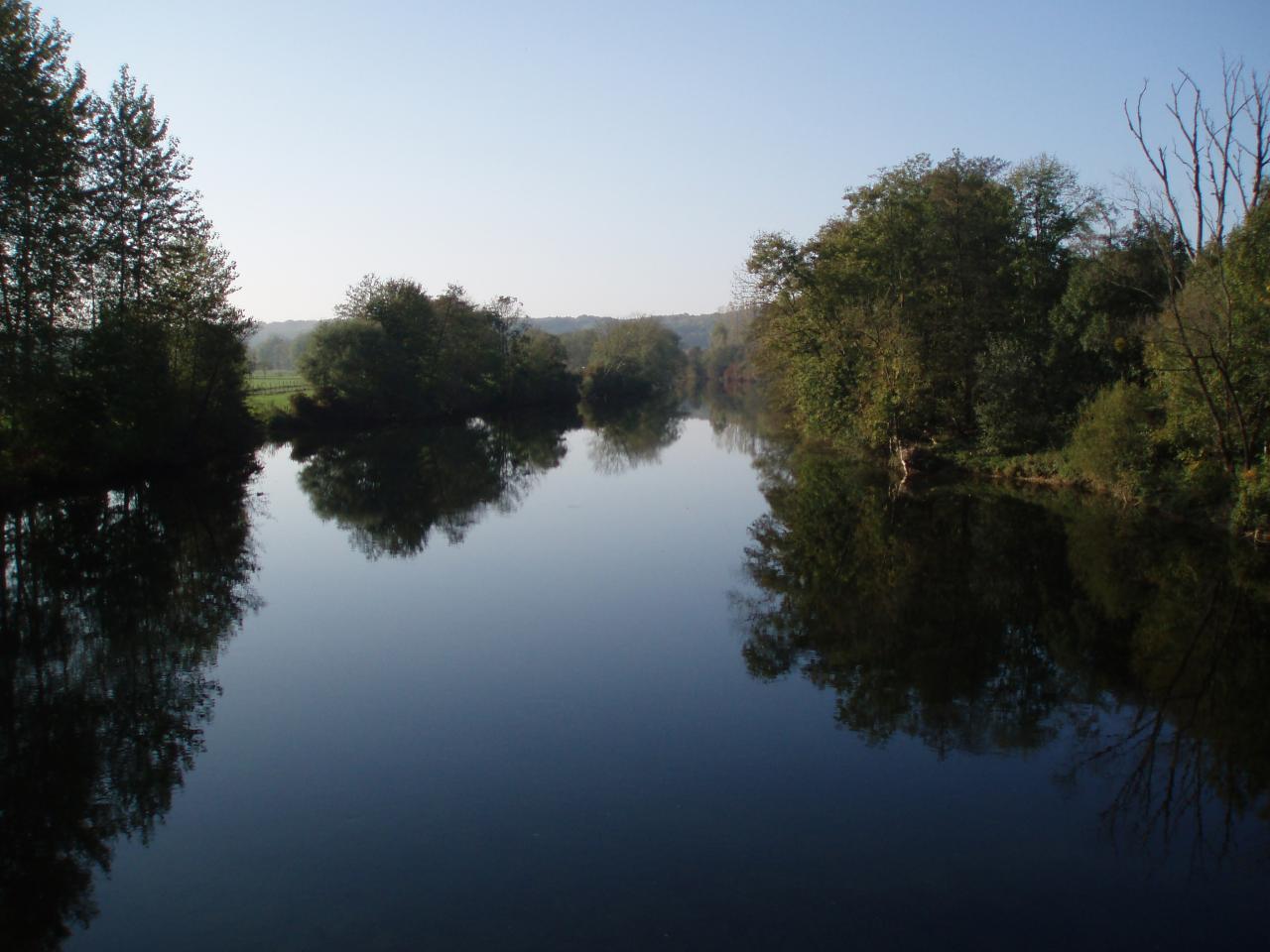 Nature en bord de Loue