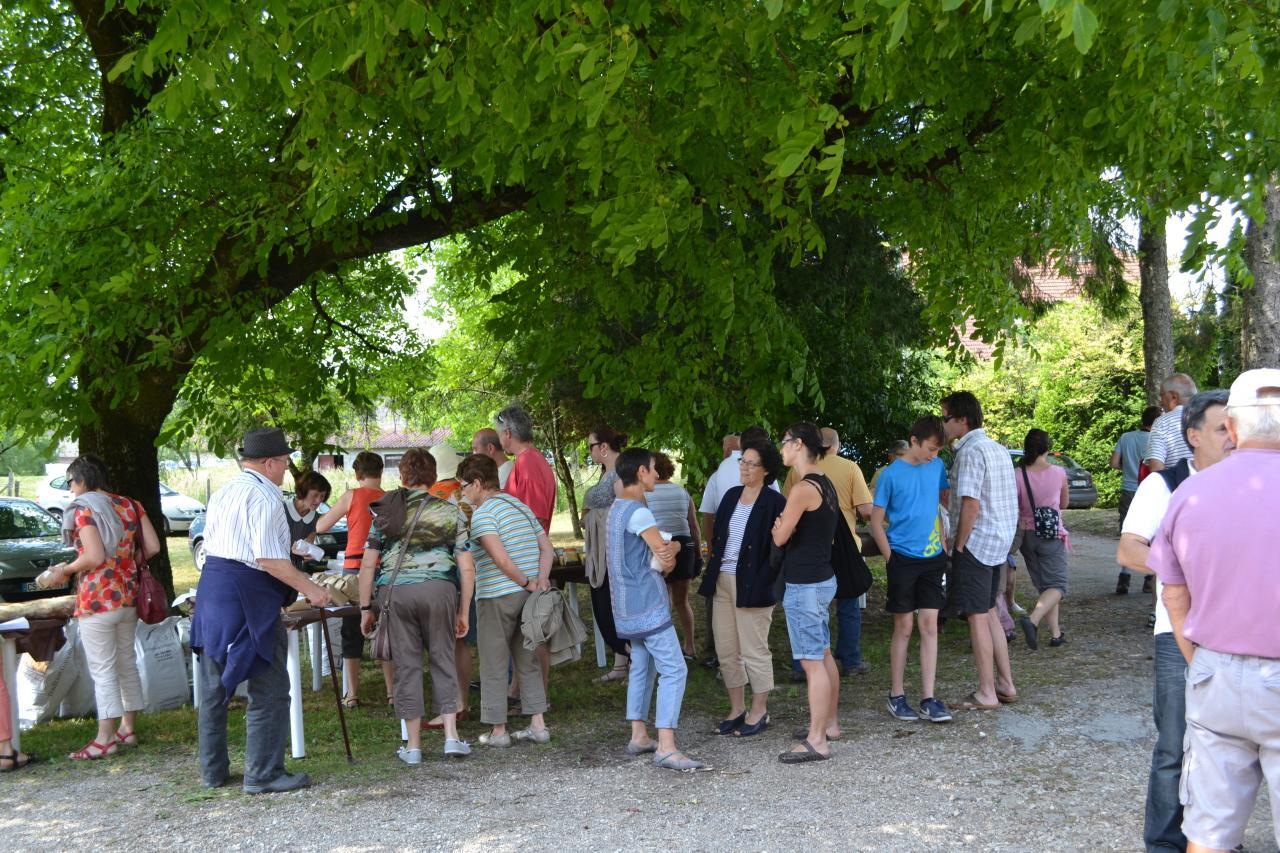 Visite du moulin - 2014 -