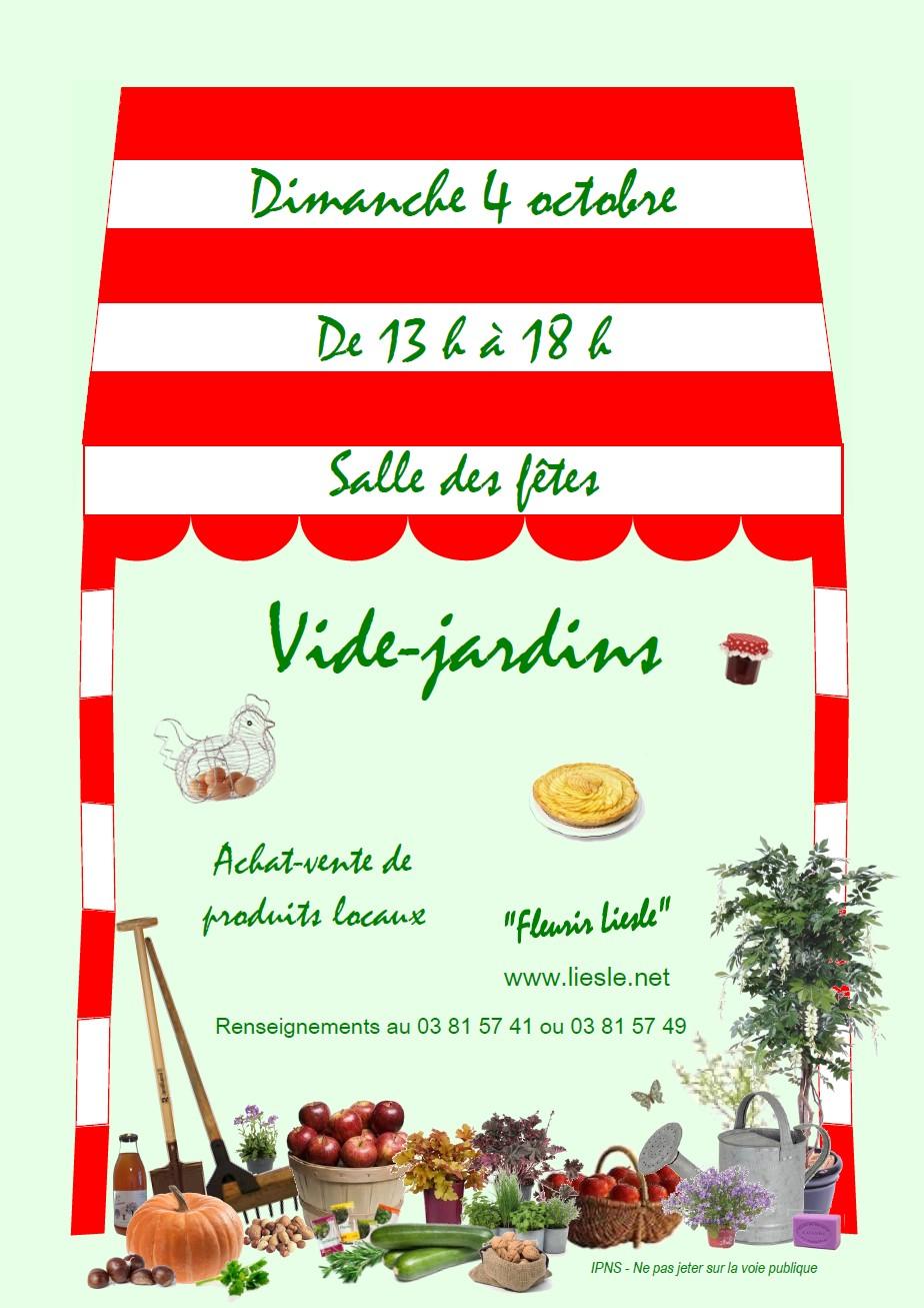 Vide jardin de fleurir liesle for Vide jardin tournefeuille 2015