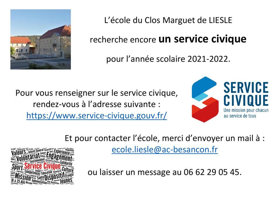 Ecole service civique
