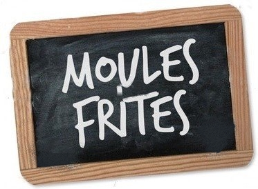 Repas moules frites