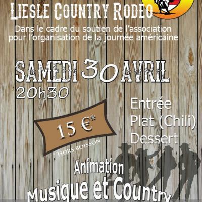 Repas rodeo avril 16