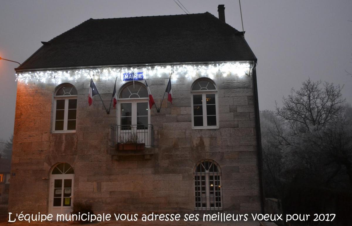 Voeux mairie 2017